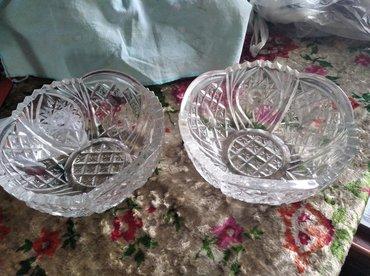 Антикварные вазы в Кыргызстан: Продам ваза хрустальная цветочная за500с., кружки 5шт.за 300с.,вазы