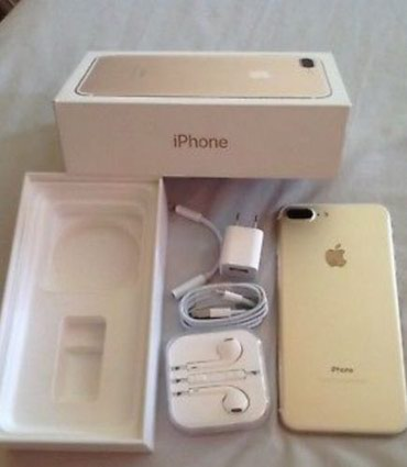Brand new Apple iphone 7plus 128gb with complete bills and accessories в Кабудиян