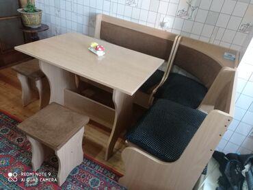 Stol masa divan hamısı birlikdə