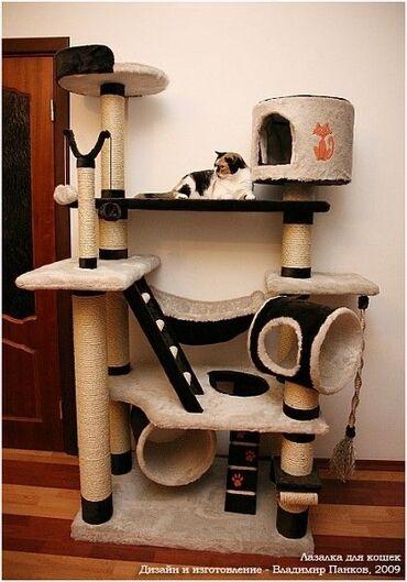 Домики и когтеточки для кошек  оптом и в розницу в срок шикарная каче