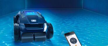 Ev və bağ - Navahı: Havuz temizlemek üçün aparat özü yeriyir telefonla idarə olunur