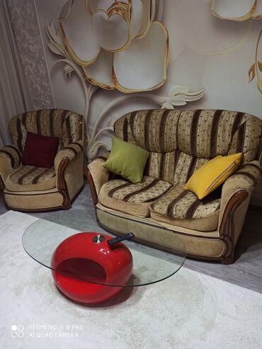 tkan dlja obivki kuhonnoj mebeli в Кыргызстан: Продам мягкую мебель Lina б/у состояние отличное, раскладывается