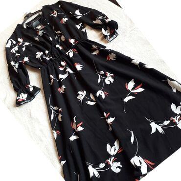 Новое Турецкое платье. Размер: 42-44 Цена: 950 сом