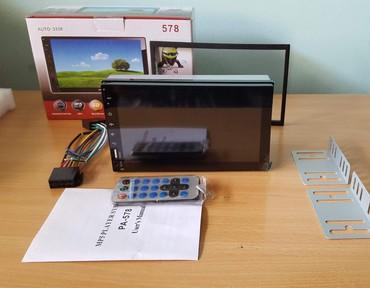 Multimedia za autoAuto Mp5 Player WINS operativni sistemPodržava