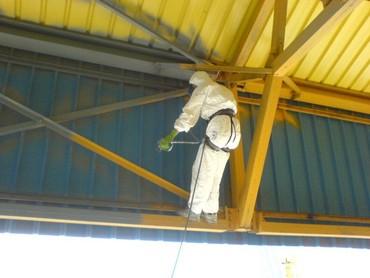 сборные гаражи в Кыргызстан: Молярные работы ВСЕХ видов • Антикоррозийная обработка металла (металл