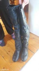 Čizme iznad kolena broj40 - Pancevo