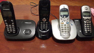 IT, Internet, Telekom - Srbija: BEŽIČNINI TELEFONI SA ADPTEROM modeli -PANASONIK KX-TG7301FX