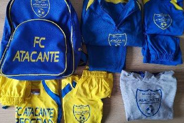 Fudbalski dresovi - Srbija: FC ATACANTE oprema - dresovi za fudbal, za decu 6-8 godinaFC ATACANTE