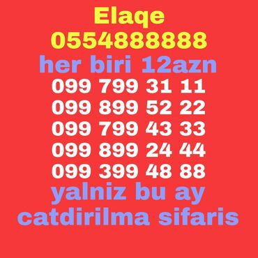 SİM-kartlar Azərbaycanda: Sifaris catdirilma var qiymat ferqimize baxin seyfede nomre coxdu ya