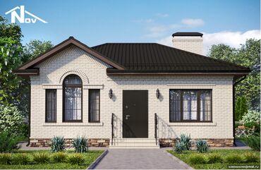 Строительство 1 этажного дома под самоотделку (ПСО).Этажность: 1