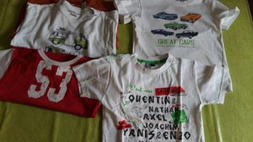 Majice za decake vel.5god (polovne )Sve zajedno za 600  din - Petrovac na Mlavi