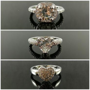 Bmw 6 серия 650ci mt - Crvenka: Posrebreno prstenje - Sterling Silver 925. Veličine 5, 6, 7 i 8. Slike