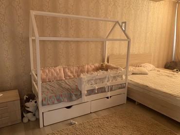Продадим кроватку-домик подростковую, купили для дочки, но она не