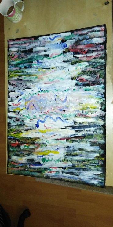 Slike | Nis: Slika akrilnim bojama. Papir. Dimenzije 50x70