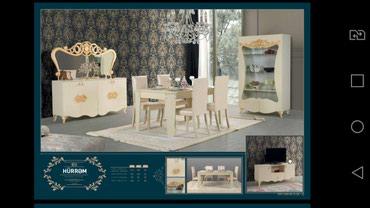 Гостинная мебель с доставкой и установкой. 4 стула в подарок. в Bakı