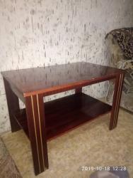 столик для фруктов в Кыргызстан: Журнальный столикВ продаже 2 журнальных столика по 900сом.Длина – 85