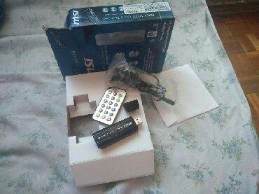 Jakna box - Srbija: USB flesh TV box, novo