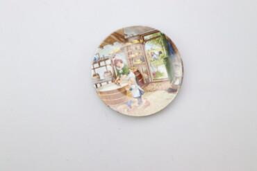 Дом и сад - Украина: Настінна тарілка Royal Schwabap    Діаметр: 17 см  Стан гарний