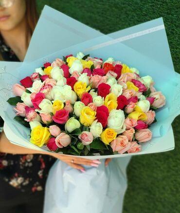 101 роза по акции 990сом