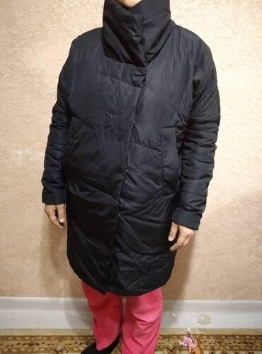 Куртка почти новый . черный на кнопках лёгкий и удобный.48р.до