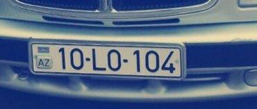 Bakı şəhərində 90-lo-104