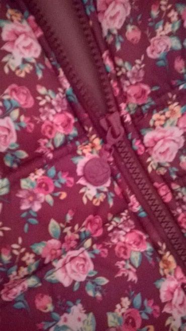 Roze-prsluk - Srbija: Terranova prsluk za devojcice 140-152 U osnovi bordo boje sa roze