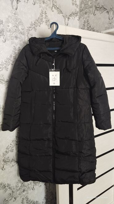 вансы бишкек in Кыргызстан   ЖҮК ТАШУУ: Продаю женскую куртку, (Новая)Холлофайбер, черная. Размер 5XLХотели