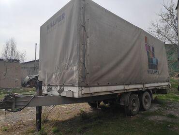 Прицепы - Бишкек: Прицеп   Продаётся грузовой заводской прицеп тентованный «тандем». •