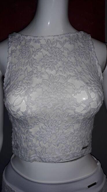 Haljine - Sombor: BLONDY suknja+majica bela cipka-Novo  Komplet je nov sa etiketom. Cip