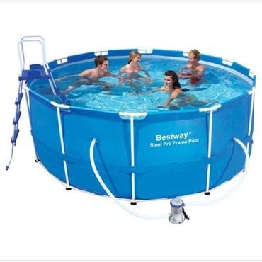 Каркасный бассейн размер-3,66*1,22. фирмы в Бишкек