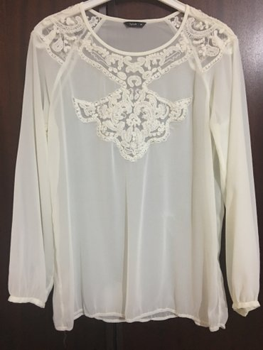 aksessuary iz bisera в Азербайджан: Shifonovaya bluzka v idealnom sostoyanii,privezena iz dubai