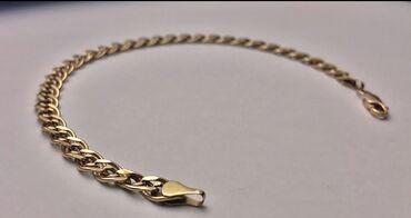 Продаю золотой браслет 585 пробы. В отличном состоянии. Вес 3.9 грамм