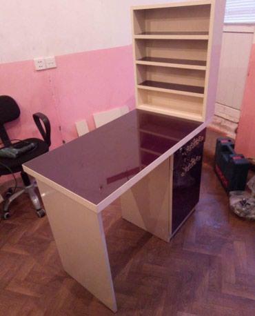 Bakı şəhərində Manıkur masası sıfarıw her rengde zovqunuze uygun topdan satıw