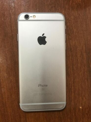 apple iphone 6 s в Кыргызстан: Б/У iPhone 6s 64 ГБ Синий