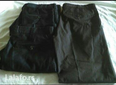 Pantalone elegantne - Srbija: Muške elegantne pantalone, vel. 48