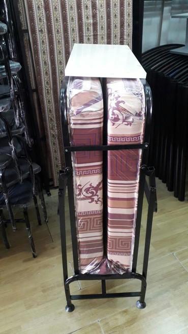 samsung раскладушка в Азербайджан: Raskladuska 190× 90 matras 12 sm