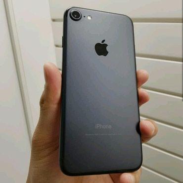 Продаю iphone 7 32gb черный матовый, в Бишкек