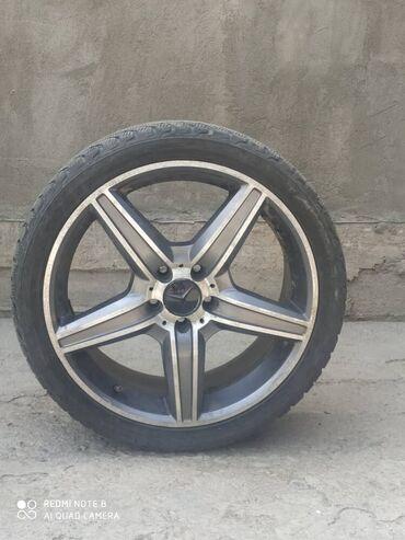 купить титановые диски на ниву в Кыргызстан: Продаю титановые диски 19 размер на мерседес 4 штуки срочно