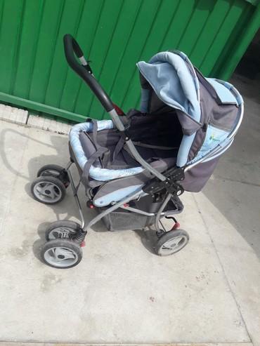 Коляски в Кок-Ой: Продается б/у коляска,В хорошем состоянии. только звонить