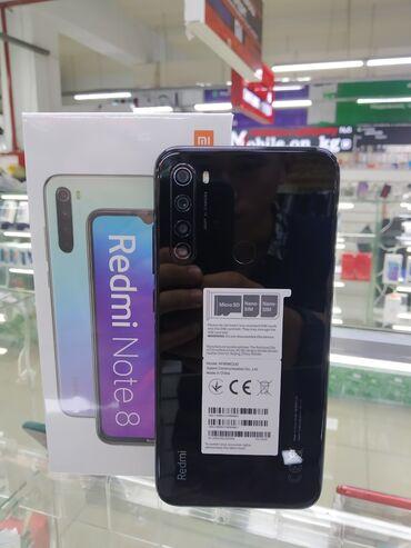 Рассрочка на телефон - Кыргызстан: Новый Xiaomi Redmi Note 8 64 ГБ Черный