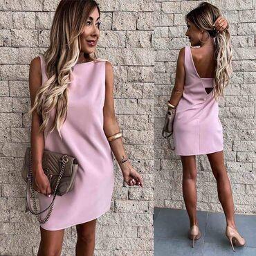 Haljina NOVO SA ETIKETOM!* Nova Kolekcija *Dostupne boje : crna, roze