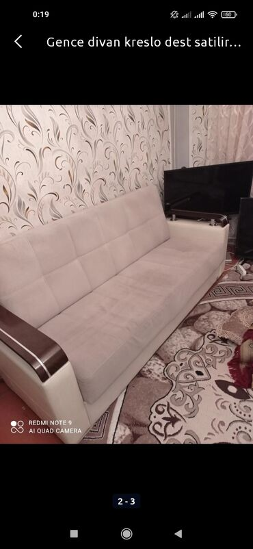 Gencede divan kreslo dest 350 m az islenib