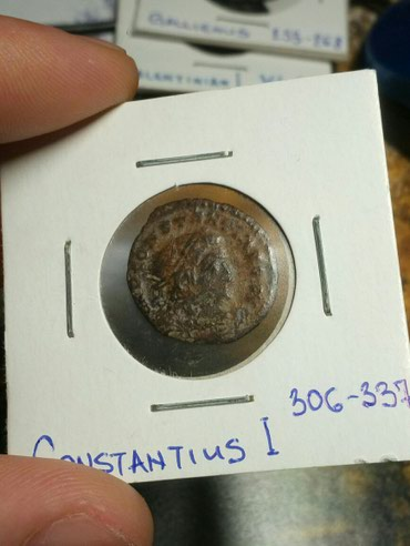Monete | Srbija: CONSTANTINUS ½ FOLLIS 650din