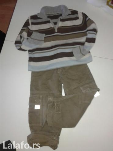 Pantalone i dzemper za deceka, velicina 6-8, pantalone su - Jagodina