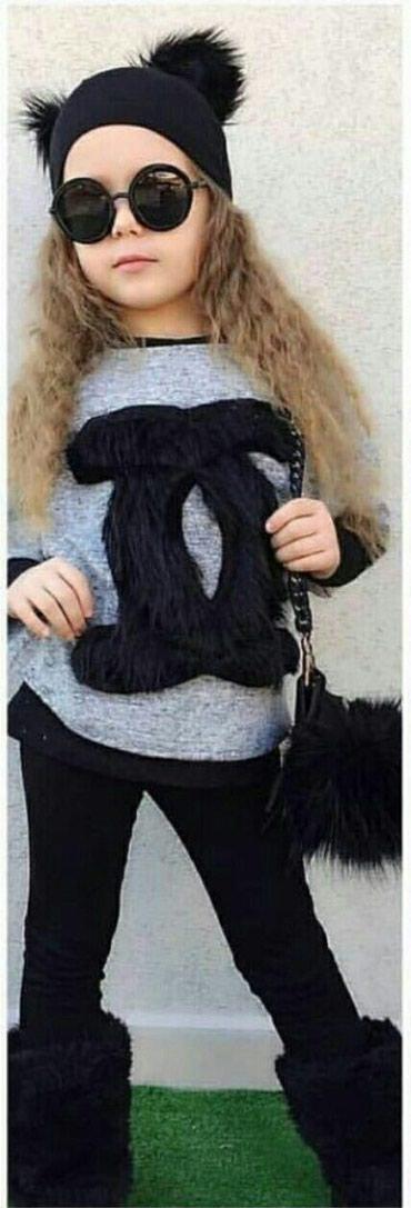 Chanel komplet bluzica,helanke,džemperić i kapa, dostupne veličine 3/4 - Paracin