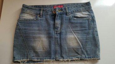 Teksas suknja,nije nosena zbog neodgovarajuće velicine. XL velicina, - Belgrade