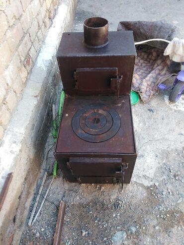 Печи и камины - Кыргызстан: Балыкчы шаарында печка сапог сатылат. Жаны темири жаны калын