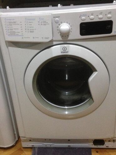 teker temiri - Azərbaycan: Öndən Avtomat Washing Machine Indesit 5 kq
