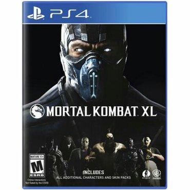 Bakı şəhərində Mortal kombat xl. Tezedir iwlenmeyib. Butun doyuwculer var. Bagli sala