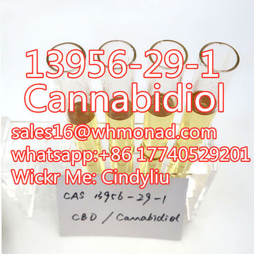Cannabidiol powder and liquid of CAS -1with best price
